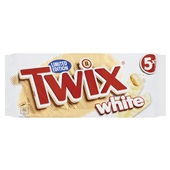 Twix chocolade White 5Pack voorkant