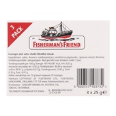 Fisherman's Friend Keelverzachter Original Extra Strong 3-Pack achterkant