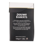 Douwe Egberts Aroma Rood Koffiecapsules Lungo Intens achterkant