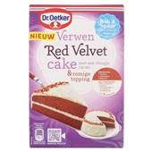 Dr. Oetker Bakmix Red Velvet Cake voorkant