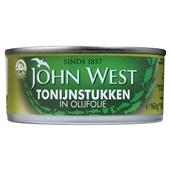 John West Tonijnstukken In Olijfolie voorkant