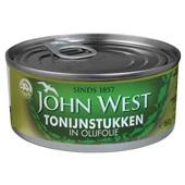 John West Tonijnstukken In Olijfolie achterkant
