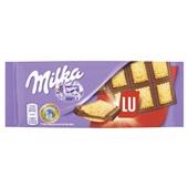 Milka Chocolade Tablet Lu voorkant