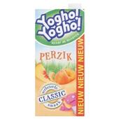 Yogho Yogho Drinkyoghurt Perzik voorkant