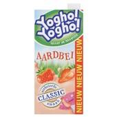 Yogho Yogho Drinkyoghurt Aardbei voorkant
