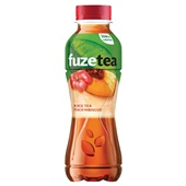 Fuze Tea Black tea peach voorkant