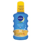Nivea Sun protect and refresh SPF 50 voorkant