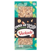 Verkade over de top  hazelnoot/karamel  voorkant