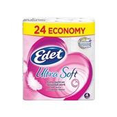 Edet toiletpapier ultra soft 4-laags voorkant