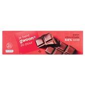 Gwoon Chocoladereep puur Fair Trade voorkant