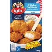 Iglo Ocean cuisine Kibbeling voorkant