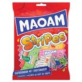 Maoam stripes kauwbonbon voorkant
