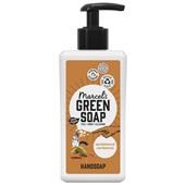 Marcel's Green Soap handzeep sandelhout kardemom voorkant