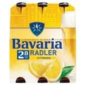 Bavaria radler lemon fles voorkant