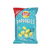 Lay's poppables chips sea salt voorkant