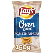 Lay's oven baked chips roasted paprika voorkant