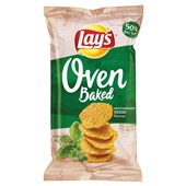 Lay's oven baked chips mediterranean herbs voorkant