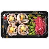 Beij Ching sushi set vegan voorkant