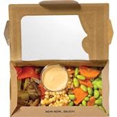Beij Ching bento box vegan couscous achterkant