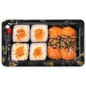 Beij Ching sushi set sake voorkant