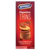 Mc Vities digestive thins melk voorkant