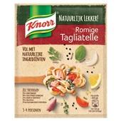 Knorr natuurlijk lekker saus romige tagliatelli voorkant