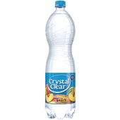 Crystal Clear sparkling peach voorkant