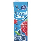 Crystal Clear framboos bosbes voorkant