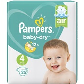 Pampers baby dry carry pack maat 4 voorkant