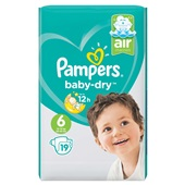 Pampers baby dry carry pack voorkant