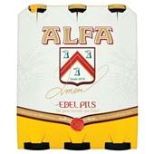 Alfa pils voorkant