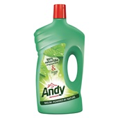 Andy allesreiniger vertrouwd voorkant