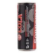Sonnema Berenburg Cola achterkant