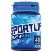 Sportlife smashmint sugar free gum voorkant