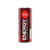 Coca Cola energiedrink regular voorkant