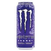 Monster energiedrink voilet original voorkant