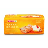 Spar Crackers Cream voorkant