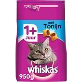 Whiskas Adult Kattenvoer Brokken Met Tonijn voorkant