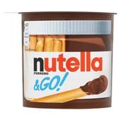 Nutella Chocolade pasta Broodbeleg &GO T1 voorkant