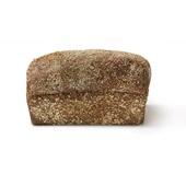 Ambachtelijke Bakker dubbel donker brood heel achterkant
