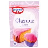Dr. Oetker Glazuur Roze voorkant