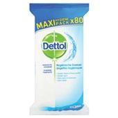 Dettol Hygienische doekjes 80 stuks voorkant