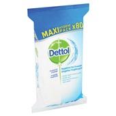 Dettol Hygienische doekjes 80 stuks achterkant