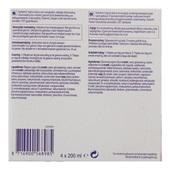 Nutricia Yoghurtstyle framboos 4x200 ml achterkant
