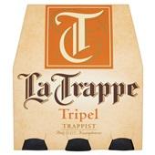 La Trappe trappist tripel fles 6x30 cl voorkant