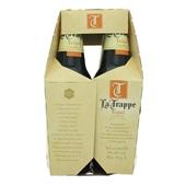 La Trappe trappist tripel fles 6x30 cl achterkant