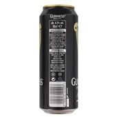 Guinness Bier Draught Blik 50Cl achterkant
