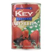 Key Aardbeien In Siroop voorkant