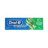 Oral B Tandenpasta Mondwater+Whitener voorkant