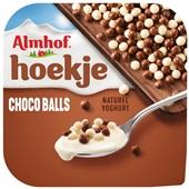 Almhof Hoekje choco balls voorkant